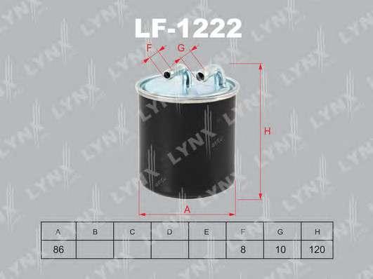 LYNXauto LF-1222 Топливный фильтр