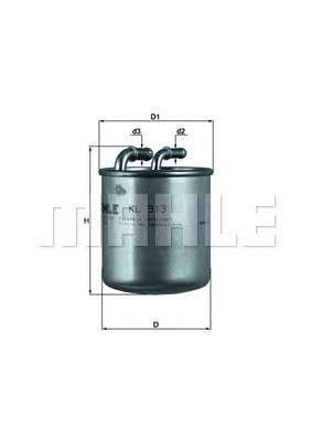MAHLE ORIGINAL KL 313 Топливный фильтр