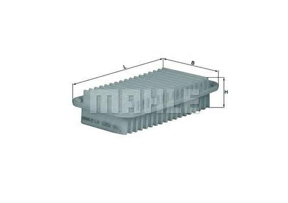 Запчасть lx1002 mahleoriginal Воздушный фильтр