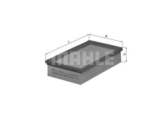 MAHLE ORIGINAL LX 105 Воздушный фильтр