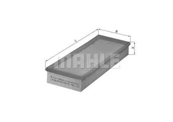 MAHLE ORIGINAL LX 106 Воздушный фильтр