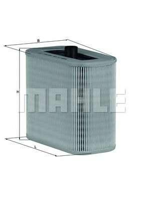 MAHLE ORIGINAL LX 1590 Воздушный фильтр