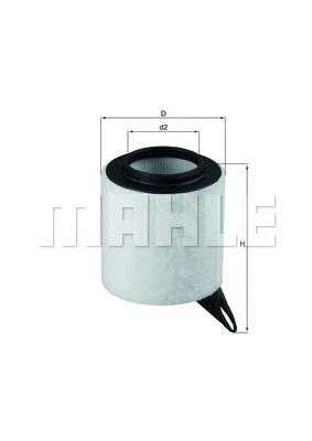 MAHLE ORIGINAL LX 1651 Воздушный фильтр