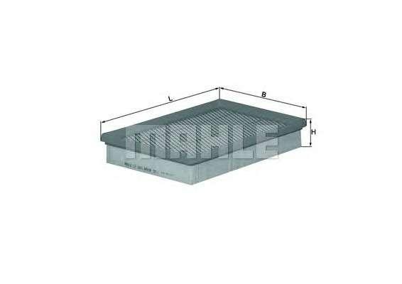 MAHLE ORIGINAL LX 1661 Воздушный фильтр