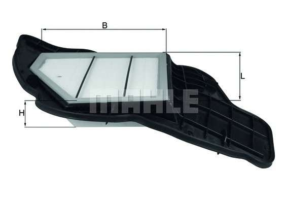 MAHLE ORIGINAL LX 1684/5 Воздушный фильтр