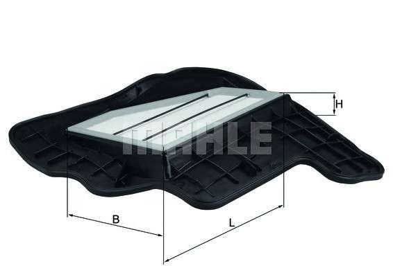 MAHLE ORIGINAL LX 1685/5 Воздушный фильтр