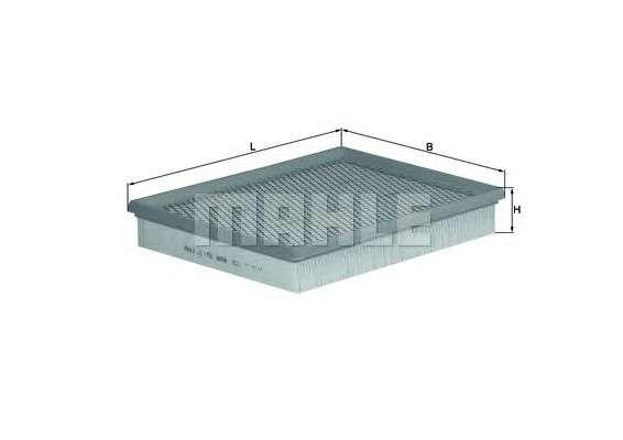MAHLE ORIGINAL LX 1758 Воздушный фильтр