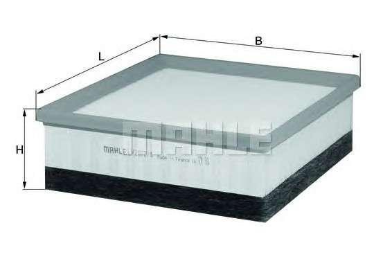 MAHLE ORIGINAL LX 2077/4 Воздушный фильтр