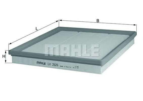 MAHLE ORIGINAL LX 2525 Воздушный фильтр