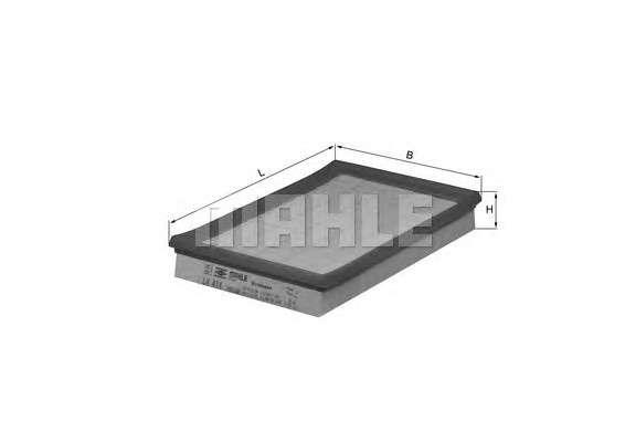 MAHLE ORIGINAL LX 414 Воздушный фильтр
