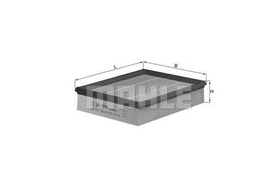 MAHLE ORIGINAL LX 422 Воздушный фильтр