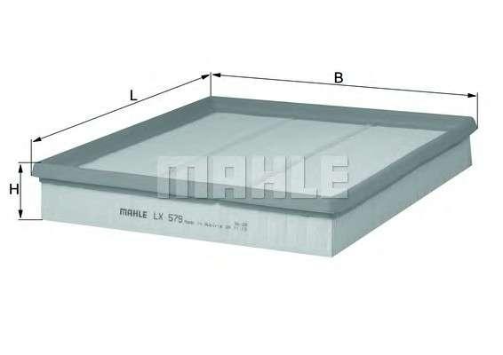 MAHLE ORIGINAL LX 579 Воздушный фильтр