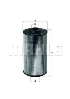 MAHLE ORIGINAL OX 152/1D Масляный фильтр