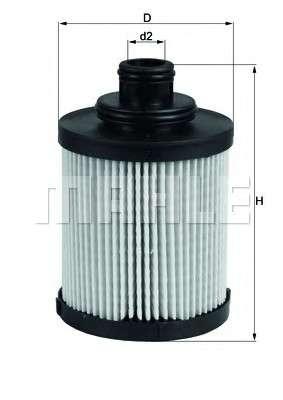 MAHLE ORIGINAL OX 418D Масляный фильтр