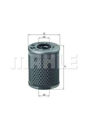 MAHLE ORIGINAL OX 68D Масляный фильтр