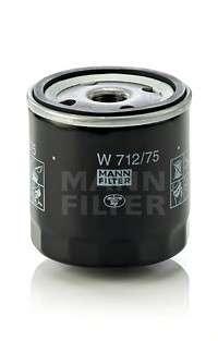 MANN-FILTER W 712/75 Масляный фильтр
