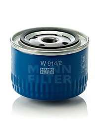 MANN-FILTER W 914/2 Масляный фильтр; Гидрофильтр, автоматическая коробка передач