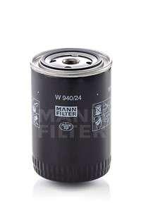 MANN-FILTER W 940/24 Масляный фильтр; Фильтр, Гидравлическая система привода рабочего оборудования