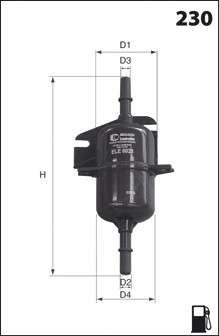 MECAFILTER ELE6021 Топливный фильтр