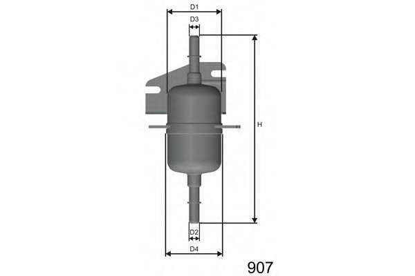 MISFAT E105 Топливный фильтр