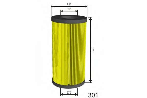 MISFAT L008 Масляный фильтр