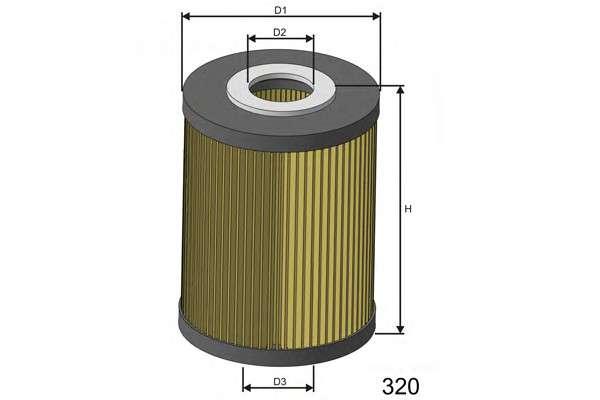 MISFAT L028 Масляный фильтр