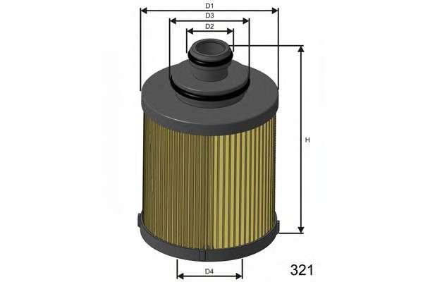 MISFAT L114 Масляный фильтр
