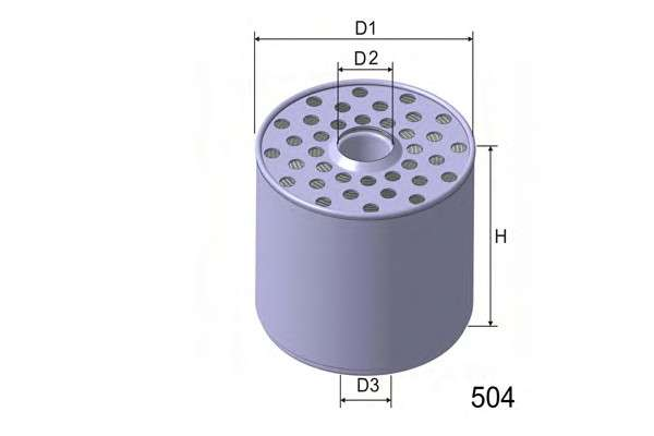 MISFAT M361 Топливный фильтр