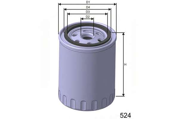 MISFAT Z164B Масляный фильтр
