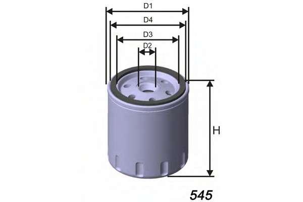 MISFAT Z188 Масляный фильтр