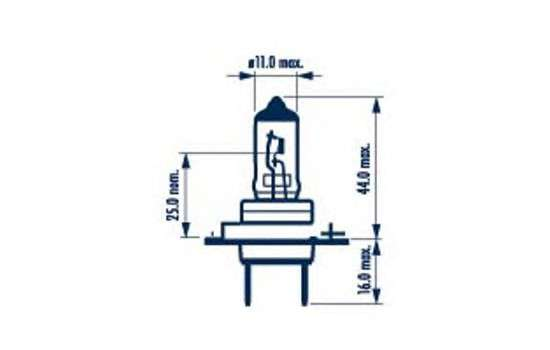 NARVA 48329 Лампа накаливания, фара дальнего света; Лампа накаливания, основная фара; Лампа накаливания, противотуманная фара; Лампа накаливания, основная фара; Лампа накаливания, фара дальнего света; Лампа накаливания, противотуманная фара; Лампа накаливания, фара с