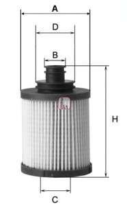 SOFIMA S 5031 PE Масляный фильтр
