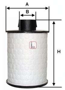 SOFIMA S 6H2O NE Топливный фильтр