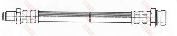 TRW PHB453 Тормозной шланг