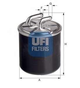 UFI 24.436.00 Топливный фильтр