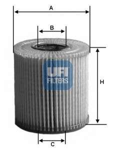 UFI 25.004.00 Масляный фильтр