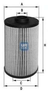 UFI 25.038.00 Масляный фильтр