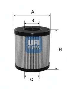 UFI 25.060.00 Масляный фильтр