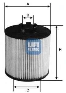 UFI 25.064.00 Масляный фильтр