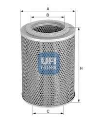 UFI 25.539.00 Масляный фильтр
