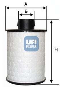 UFI 60.H2O.00 Топливный фильтр