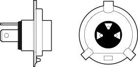 VALEO 032515 Лампа накаливания, фара дальнего света; Лампа накаливания, основная фара; Лампа накаливания, противотуманная фара; Лампа накаливания, основная фара; Лампа накаливания, фара дальнего света; Лампа накаливания, противотуманная фара