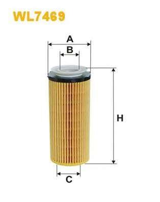 WIX FILTERS WL7469 Масляный фильтр