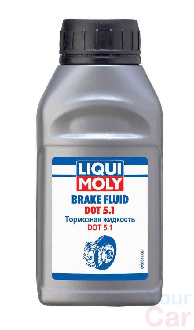 Жидкость тормозная dot 5.1, Liqui Moly BRAKE FLUID, 0.25л в Харькове
