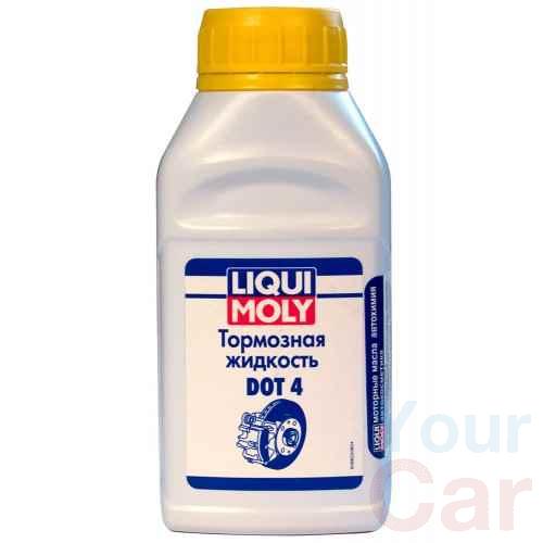 Жидкость тормозная dot 4, Liqui Moly BRAKE FLUID, 0.25л в Харькове