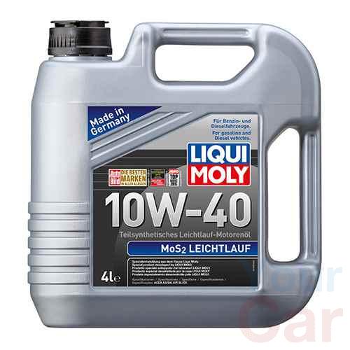 Масло моторное полусинтетическое Liqui Moly MoS2 Leichtlauf 10W-40, 4л в Харькове