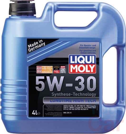 Масло моторное синтетическое Liqui Moly Longtime High Tech 5W-30, 4л в Харькове