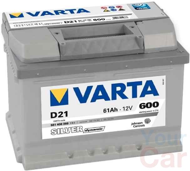 VARTA Silver Dynamic, 12в 61а/ч в Харькове