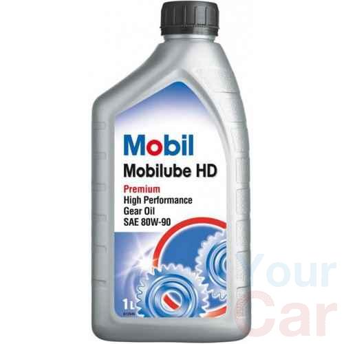 Масло трансмиссионное минеральное Mobil MOBILUBE HD 80W-90, 1л в Харькове