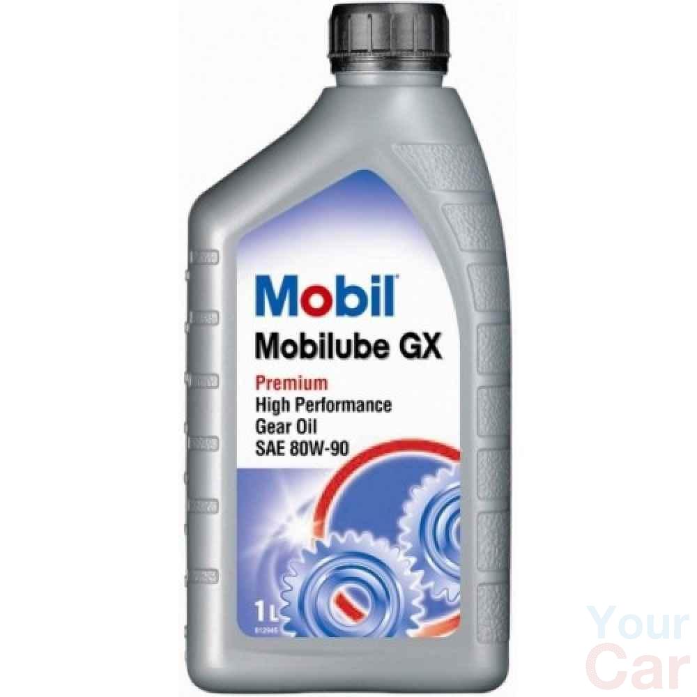 Масло трансмиссионное минеральное Mobil MOBILUBE GX 80W-90, 1л в Харькове